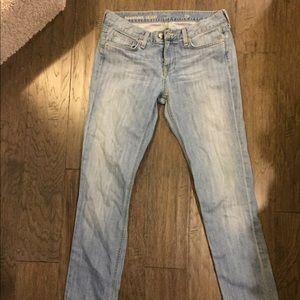 J crew jeans downtown skinny size 29